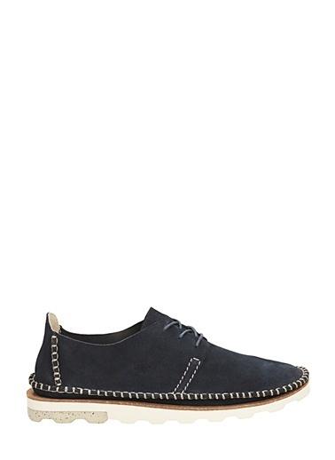 Clarks Bağcıklı Süet Ayakkabı Mavi
